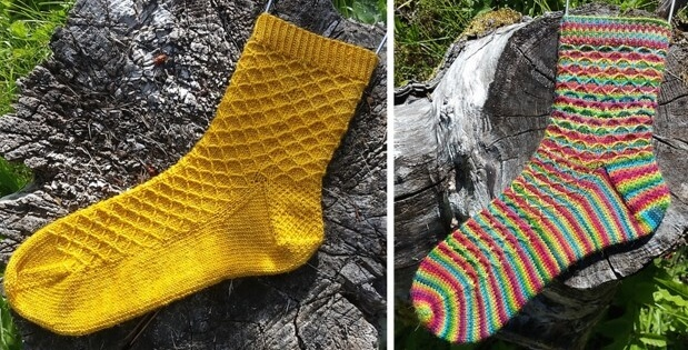 knit patio socks | the knitting space