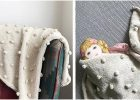 pebble knitted baby blanket | the knitting space