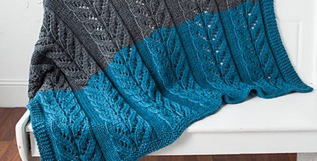 Pemberley Knitted Blanket Free Knitting Pattern