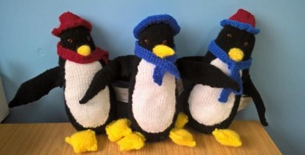 Knit Penguin Soft Toy Free Knitting Pattern