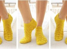 peppy Sun Dance knitted lace socks | the knitting space