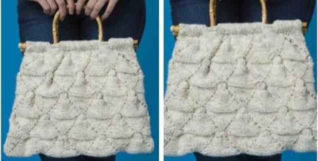 Perfectly Pretty Knitted Purse Free Knitting Pattern