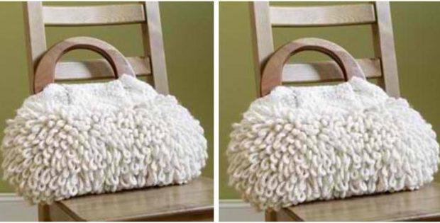Plush N Pretty Knitted Purse Free Knitting Pattern