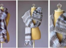 pomtastic knitted warmers | the knitting space