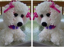 adorable Poppet knitted poodle | the knitting space