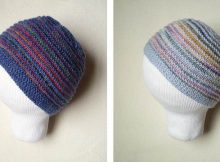 precious Pippi  knitted baby hat | the knitting space