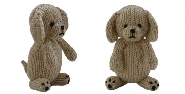 Adorable Knitted Puppy That Is Soft And Cuddly Free Knitting Pattern