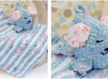 puppy 'n blankie knitted baby set | the knitting space