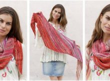 ravishing Rio knitted shawl | the knitting space