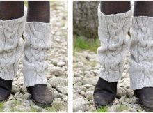 retro dance knitted leg warmers | the knitting space