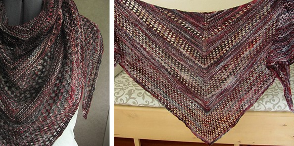 Reyna Knitted Lace Shawl Free Knitting Pattern