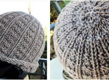 gorgeous sailor's knitted rib cap | the knitting space