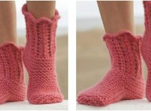 salsa lessons knitted lace slippers | the knitting space