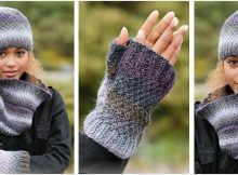sea smoke knitted warmers | the knitting space