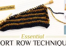 Essential Short Row Knitting Techniques