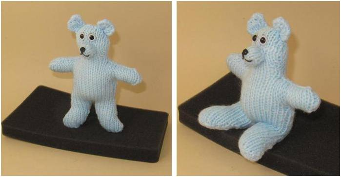 Simply Easy Knitted Teddy Bear [FREE Knitting Pattern]