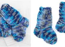 totes snuggly knitted baby socks | the knitting space