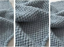 soft 'n comfy knitted baby blanket | the knitting space