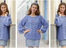 spellbinding Segovia knitted sweater | the knitting space
