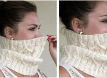 splendid spikelets knitted cowl | the knitting space