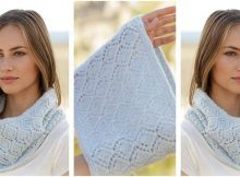 spring bound knitted neck warmer | the knitting space