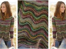 spring forest knitted sweater | the knitting space