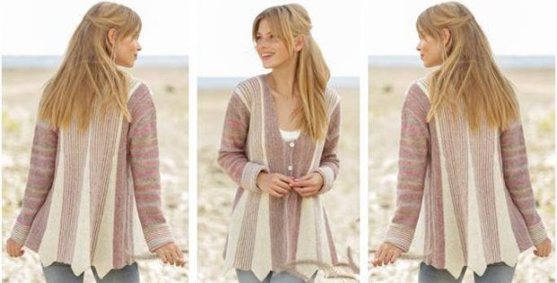 Spring Rays Knitted Jacket [FREE Knitting Pattern]