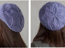 stylish knitted cable top hat | the knitting space
