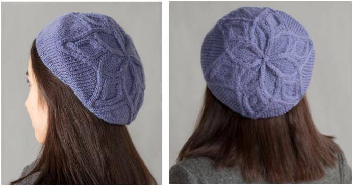 Knitting Pattern Top Hat : Stylish Knitted Cable Top Hat [FREE Knitting Pattern]