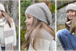 adorable Nora knitted set | the knitting space