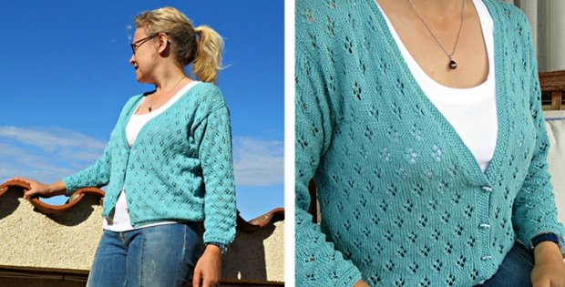 Knitted Summer Breeze Cardigan [FREE