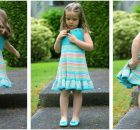 summer shades knitted dress | the knitting space