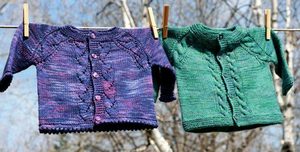 Sunnyside Knitted Baby Cardigan  FREE Knitting Pattern  35b26e3df