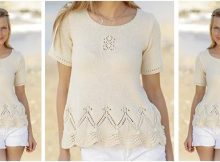 sweet Istanbul knitted top | the knitting space