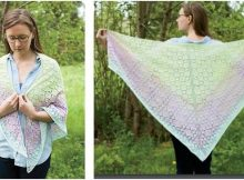sweet Kaieteur knitted shawl | the knitting space