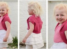 sweet berry kiss knitted bolero | the knitting space