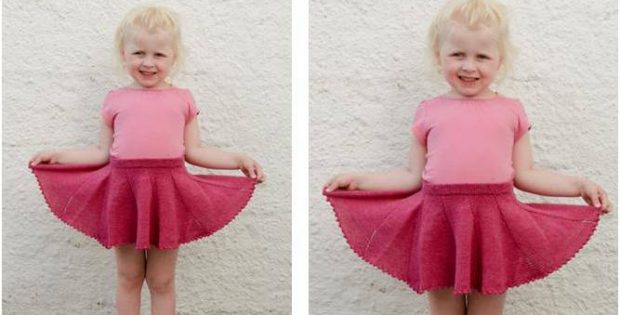 cute sweet curtsy knitted skirt | the knitting space