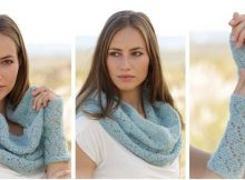 sweet lace knitted warmer set | the knitting space