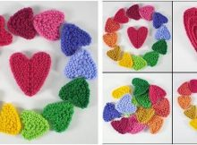sweet 'n lovely knitted hearts | the knitting space