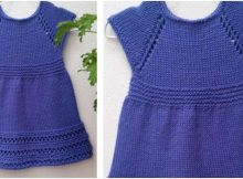 sweet wee penny knitted dress | the knitting space