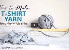 making t-shirt yarn | the knitting space