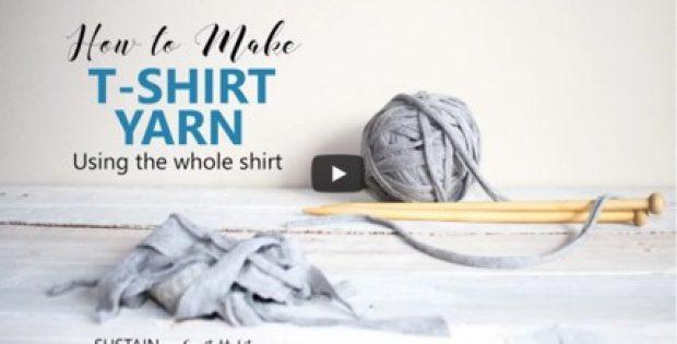 making t-shirt yarn | the knitting space
