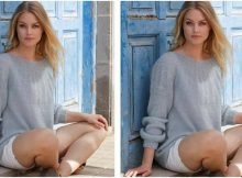 tasteful Tornade knitted sweater | the knitting space