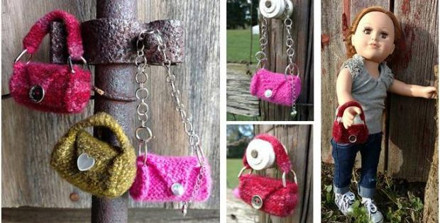 teeny mini knitted doll accessory | the knitting space
