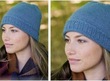 tender Tamineh knitted hat | the knitting space