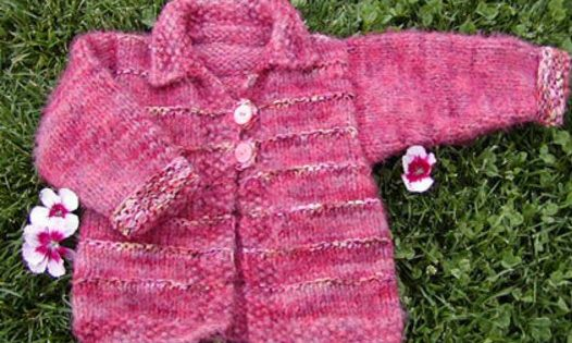 Tigger Knitted Toddler Cardigan Free Knitting Pattern