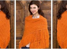 timeless knitted popcorn shawl | the knitting space