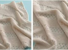 treasured heirloom knitted baby blanket | the knitting space