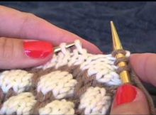 knitted tuck stitch   the knitting space