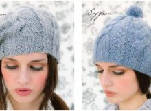 two gorgeous saffron hats | the knitting space